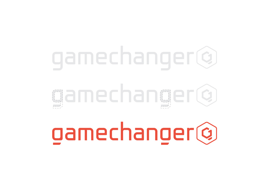 The different Gamechanger logo
