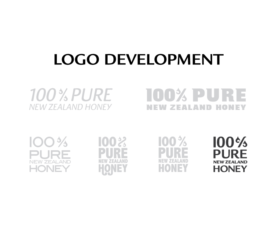 The different Pure NZ Honey 4