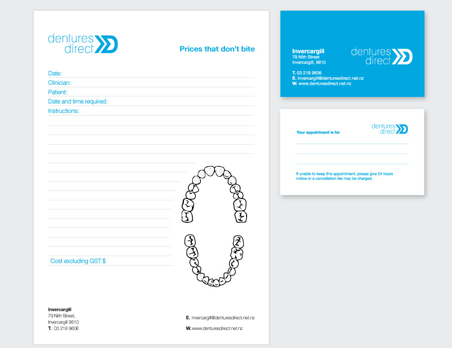 The Different Christchurch Advertising Agency Dentures Direct 2