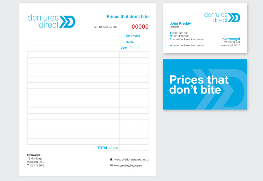 The Different Christchurch Advertising Agency Dentures Direct 3